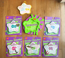 Nickelodeon's Brain Bender Trivia Game Control Base and 6 pads, 5 are New