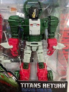 Transformers Titans / Headmaster - SKULLSMASHER - Deluxe Class -New Sealed 00900