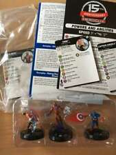 Marvel Heroclix Sidekick Night Limited OP Kit Set Iron Man Thor Captain America