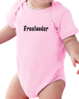 Infant Creeper Bodysuit T-shirt Freeloader Funny