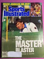 NICK FALDO Sports Illustrated April 17 1989  The Master Blaster Magic Lakers LA