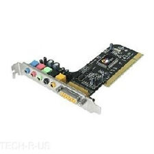 SIIG Sound Card IC-510012-S2 SoundWave 5.1 PCI RoHS Retail