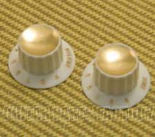 PK-3262-050 Harmony Style Gold Top Numbered Rocket Knobs Guitar/Bass
