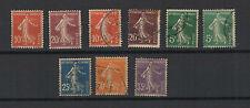 FRANCE 1900/20 timbre neuf et oblitérés type semeuse / T1752