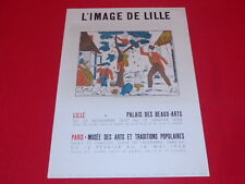 [Coll. R-JEAN MOULIN ART XXe] IMAGERIE POPULAIRE LILLE / EO 1957 LITHO MOURLOT