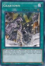 Geartown Common 1st Edition Yugioh Card SR03-EN025