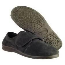 Pantofole da uomo neri con a strappo