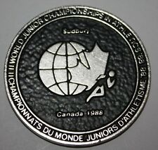 1988 Sudbury 2nd IAAF World Junior Championships in Athletics Medal