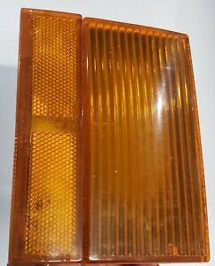 1984 OLDSMOBILE 98 FRONT RH PASSENGER SIDE TURN SIGNAL LENS LIGHT 5934294