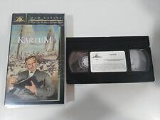 KARTUM VHS TAPE CINTA COLECCIONISTA CHARLTON HESTON LAURENCE OLIVIER