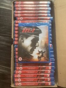 25 X MISSION IMPOSSIBLE - BLURAY - NEW SEALED