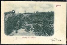 1900 - Bobbio - Grotta di S. Colombano