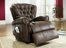 Sessel mit Aufstehhilfe in Braun