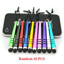 SALE 10x Universal Metal Stylus Touch Pen For Android iPad Phone PC Pens Tablet