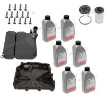 For BMW 135i M3 M4 M5 M6 Z4 11-16 Transmission Filter Oil Pan Bolts & Fluid Kit