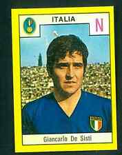 Figurina Calciatori Relì 1969-70! De Sisti (Nazionale Italia) Nuova da bustina!