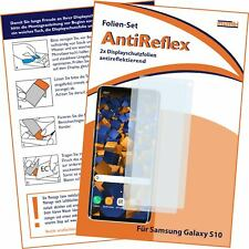 Mumbi 2x Folie für Samsung Galaxy S10 Schutzfolie Displayschutzfolie matt