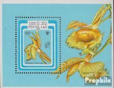 Laos Bloc 107 (complète edition) neuf avec gomme originale 1985 Exposition phila