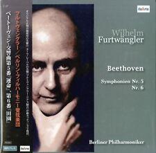 WILHELM FURTWANGLER &...-BEETHOVEN: SYMPHONY NO. 5 & 6-JAPAN 2 LP Ltd/Ed AI70