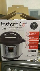 Instant Pot Duo 7 in 1 Multi pressure cooker- Silver 5.7 litres