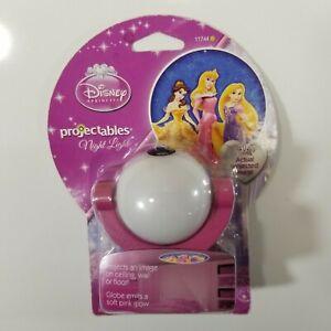 Jasco Projectables LED Light Sensing Night Light Walt Disney Princess Theme NEW