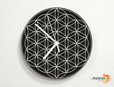 Flower of Life - Taurus Energy - Circles Pattern - Sacred Geometry - Wall Clock