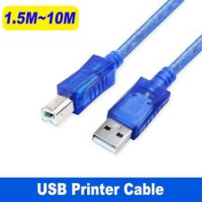 Universal Printer Cable USB 2.0 Type A Male to B for Brother Epson Canon Scanner