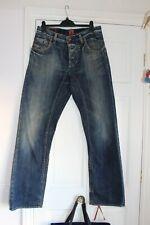 "HUGO BOSS Straight Leg Jeans Size 32"" W 32"" Leg vgc"