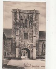 St Cross Hospital Beaufort Tower Hampshire Vintage Postcard 381a