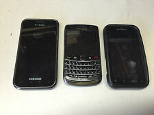 Samsung SGHT959V, Blackberry 9700, Motorola MB525 phones for T-Mobile
