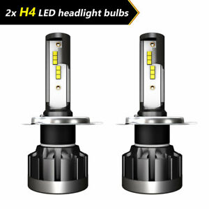 2X Car H4 LED Headlight Bulb Conversion Kit 110W 30000LM DC 9-32V High/Low Beam