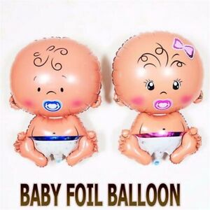 Baby Shower Air Balloons Party Decoration Foil Balloons Lovely Baby Girl Boy dec