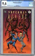 Superman vs. Aliens   #2  CGC  9.6   NM+    White pages   8/95   See below....