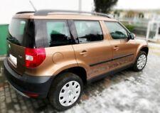 Zierleiste Seitenschutz Türschutz für Skoda Yeti SUV 2009-2013