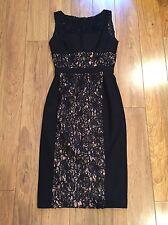 BLACK HALO Wyatt Lace Dress Size 2