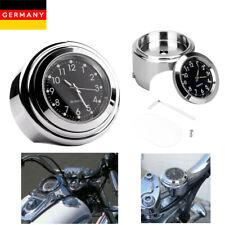 7/8 '' Motorraduhr Uhr Mount Clock Für Motorrad Fahrrad Lenkeruhr Wasserdicht