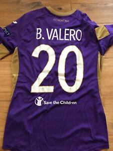 Match Worn Fiorentina Borja Valero 14/15