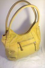 Yellow Genuine Leather Naturalizer Purse Handbag Soft Nice Interior