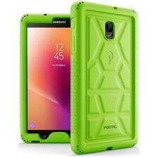 Poetic Samsung Galaxy Tab A 8.0 Rugged Case [TurtleSkin] Shockproof Cover Green