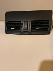 2010 2011 2012 2013 MAZDA 3 CENTER DASH DUAL A/C AIR VENT TRIM (BLACK)