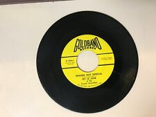 CAJUN 45 RPM RECORD - IRY LE JUNE & HIS FRENCH ACCORDIAN- GOLDBAND G-1024