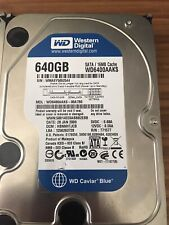 Western Digital HDD Hard Drives Used | 1tb | 500gb | 640gb | All working, wiped