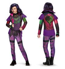 NEW Disney Descendants MAL Girls Child S 4-6x Deluxe Costume Villian Halloween