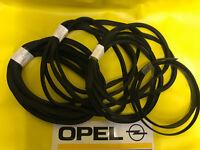 NEU Satz Dichtung Kofferraum Lüfterklappe Türdichtung Opel Olympia Rekord P1 P2