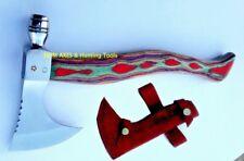 MDM HIGH POLISH TOMAHAWK VIKING BREADED COMBAT THROWING AXE VINTAGE TACTICAL AX