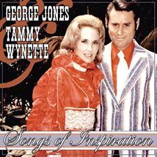 GEORGE & WYNETTE,TAMMY JONES - SONGS OF INSPIRATION  CD NEUF