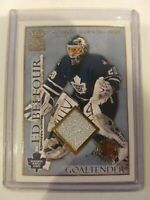 2003-04 Crown Royale GAME PATCH #23 ED BELFOUR /220 -  Maple Leafs