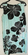 Connected Sleeveless Back Zip Printed Dress Size 14 NEW WITH TAGS