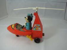 Vintage Disney Mickey Mouse Club Rotocopter helicopter wind up Durham Ind. Inc.