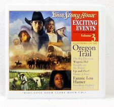 NEW Exciting Events Volume 3 Your Story Hour Audio Drama CD Kids Oregon Trail